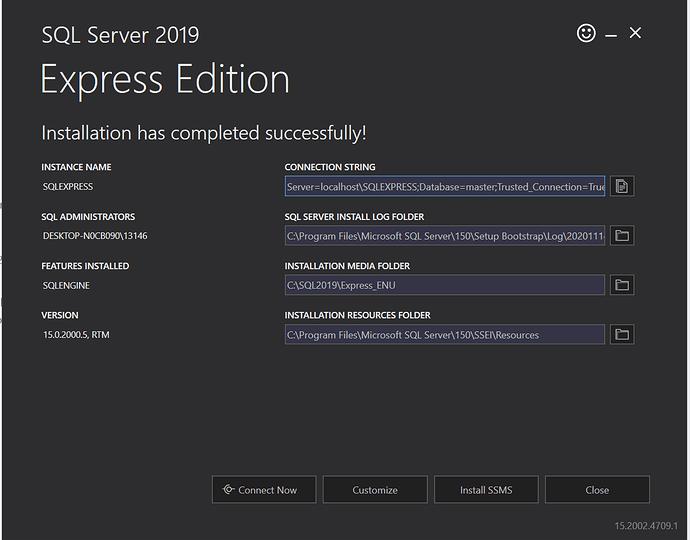 SQLServer2019ExpressEdition