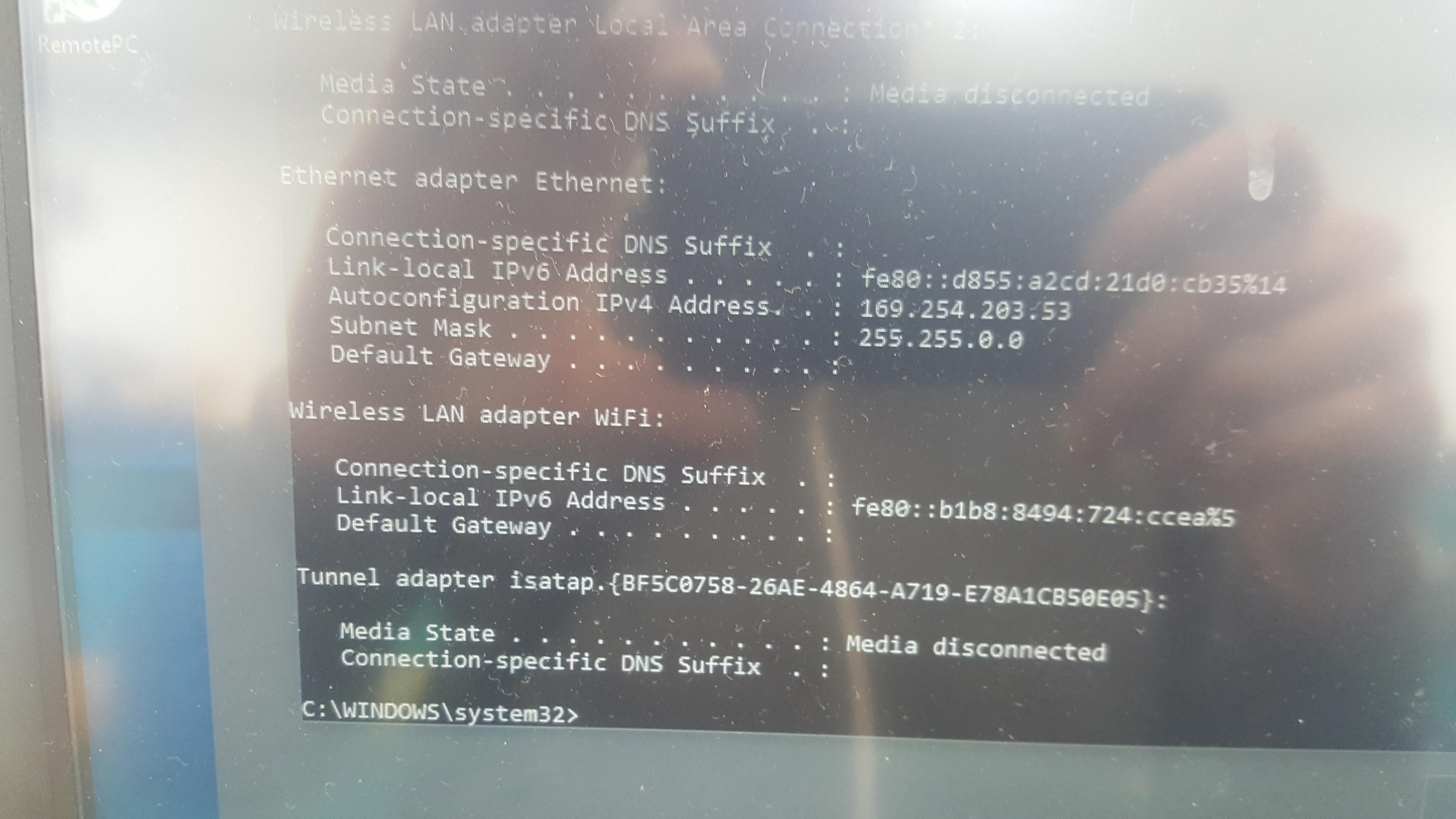 Unidentified network - wired through switch - General - SambaClub Forum
