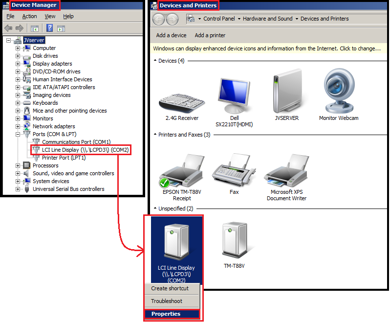 Pole Display / Customer Display / VFD - V4 Tutorial