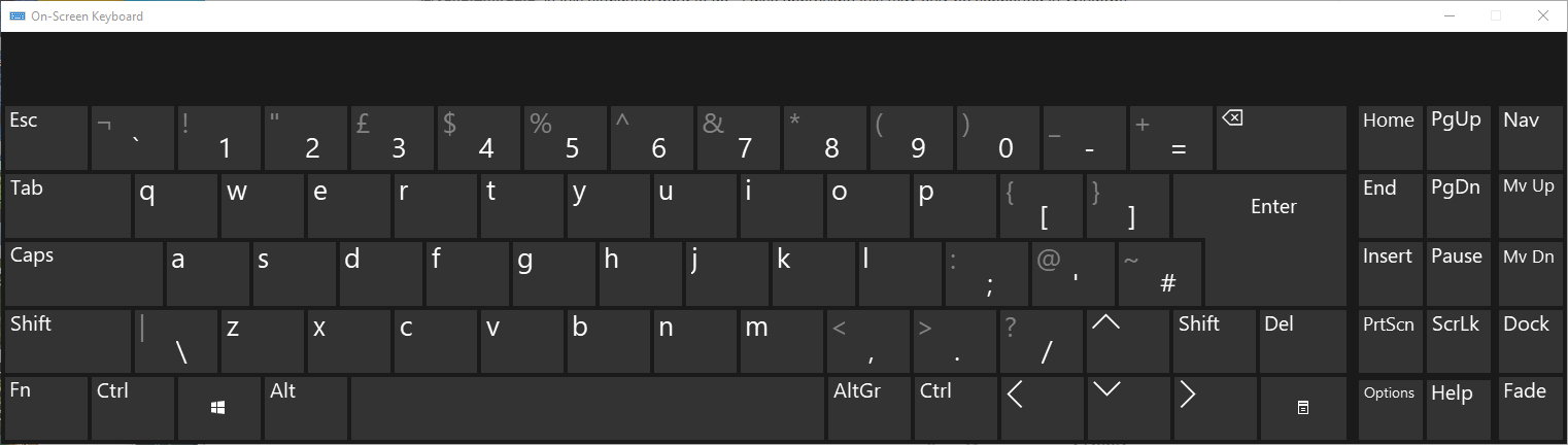 Keyboard button to open native Windows touch keyboard - V5