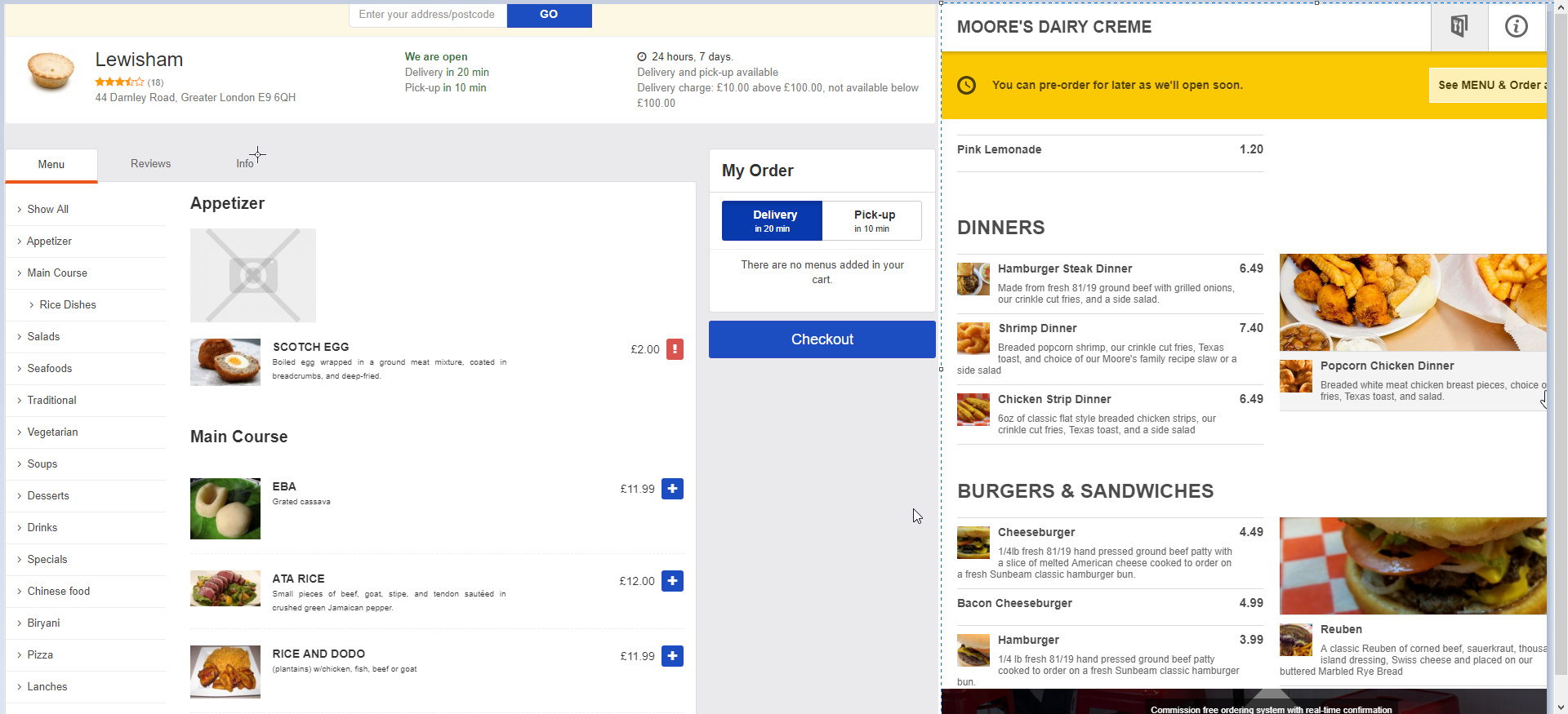 Online Ordering Apps Discussion - General - SambaClub Forum