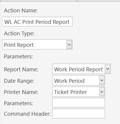 Print Period Report Button Error 3