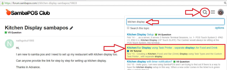 Kitchen Display sambapos - V5 Question - SambaClub Forum